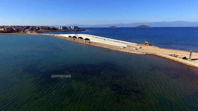 cunda adası boğaz köprüsü